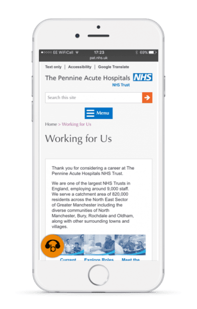 NHS trust recruitment